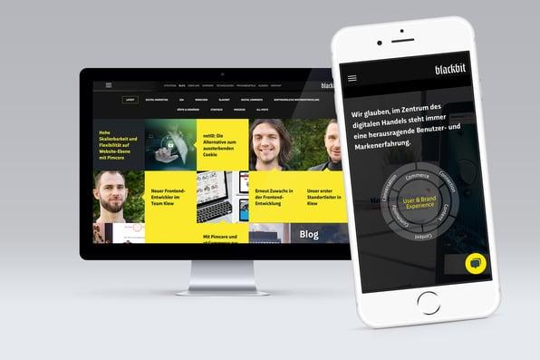 Der Blackbit Relaunch: Ansprechendes responsive Design