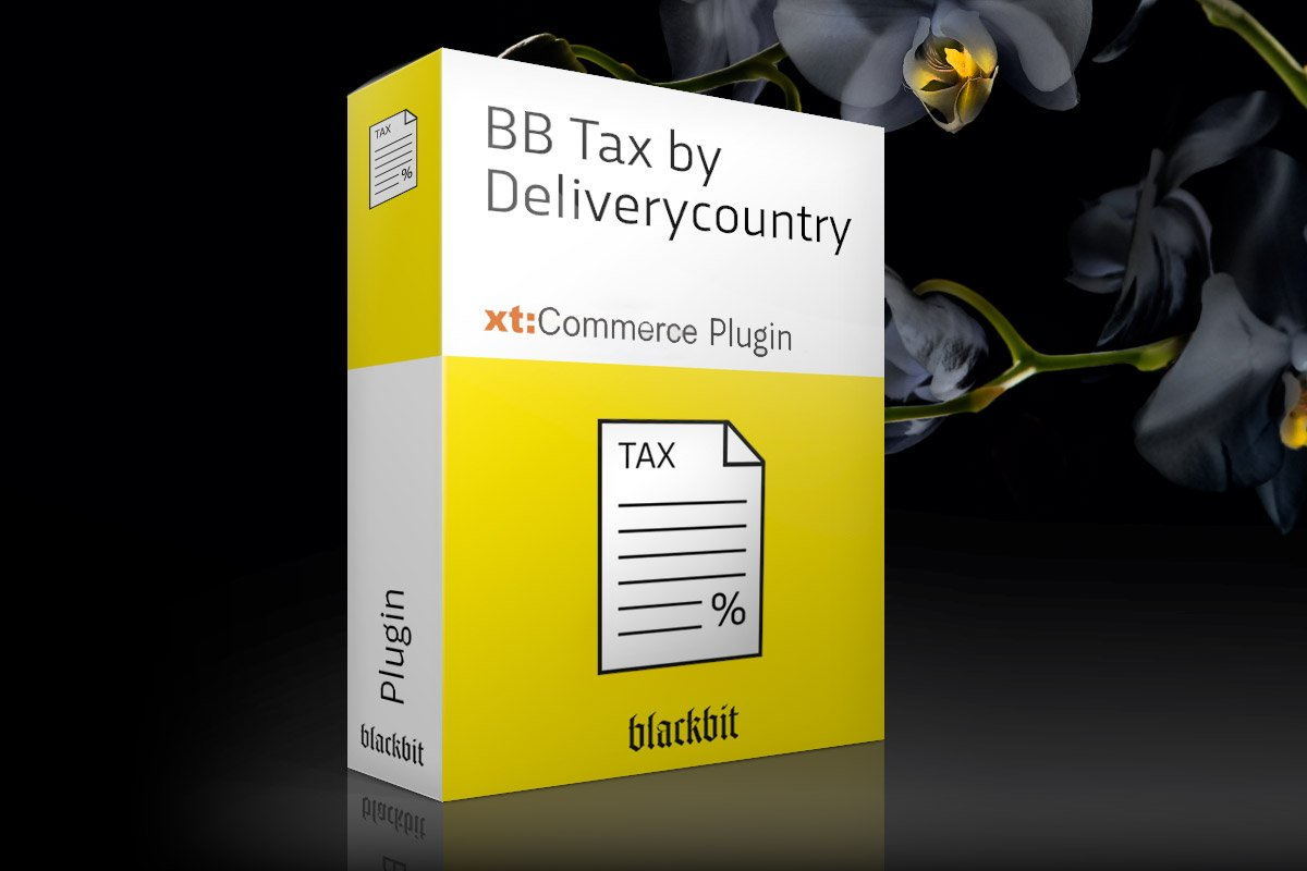 Blackbits xt:Commerce Plugin Tax By Deliverycountry
