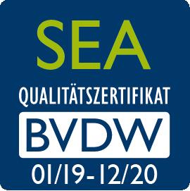BVDW-SEA Zertifikat 2019 - Blackbit