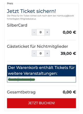 Ticketing Hamburg@work