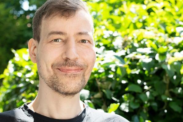 Dirk Hedtke ist Frontend-Entwickler bei Blackbit