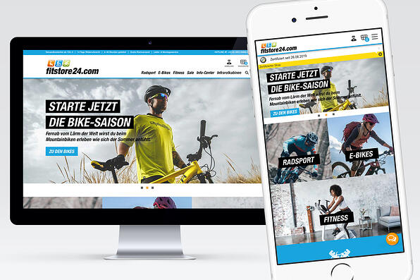Fitstore24 xt:Commerce Shop responsives Design