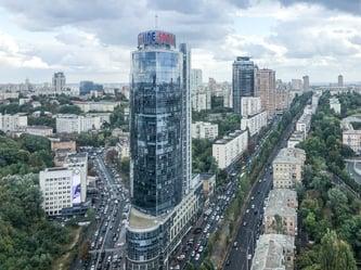 Kiew Stadtüberblick