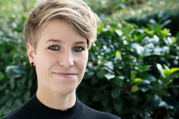 Lisa Kleffner ist neu bei Blackbit - ihr Spezialgebiet ist Text und Social Media
