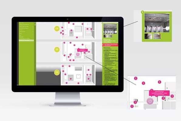 Interaktive Infografik auf Pimcore-Basis