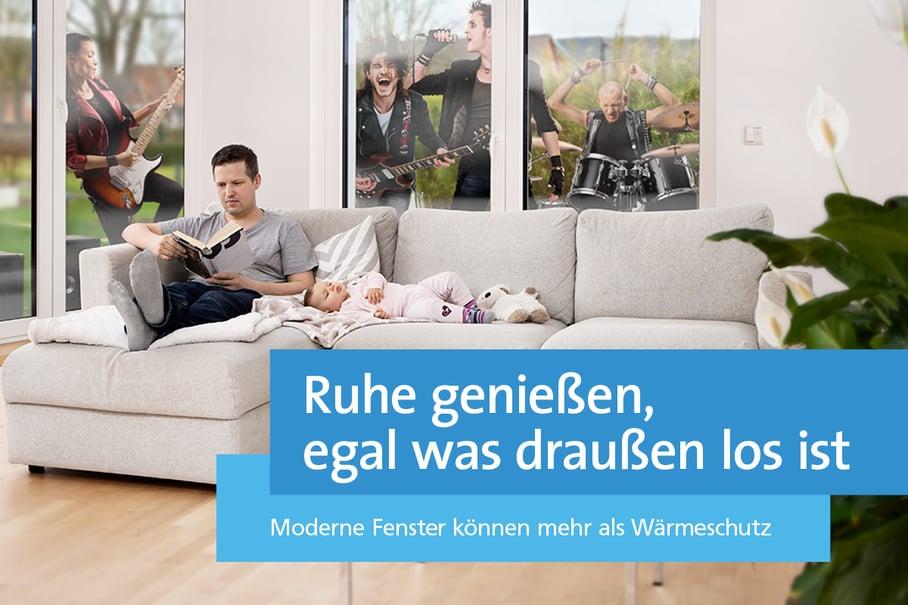 """Eingängige Texte und eine progressive Bildsprache transportieren unsere Botschaft: """"Moderne Fenster können mehr"""""""