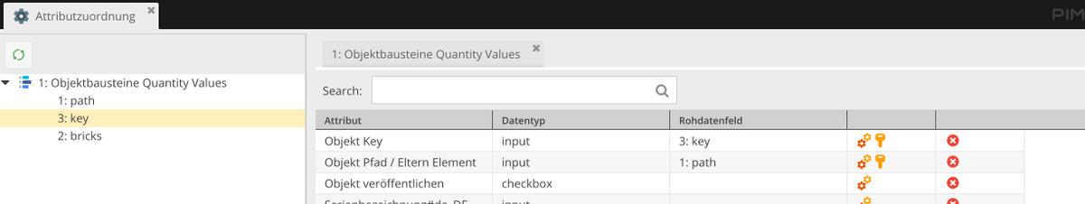 Änderung Datenmodell in Pimcore: Rohdatenfeldern den Objektfeldern zuordnen