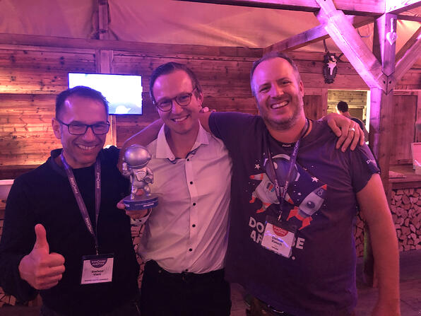 Blackbit-Entwickler Jan Walther ist  Most Valuable Pimconaut of the Year 2019