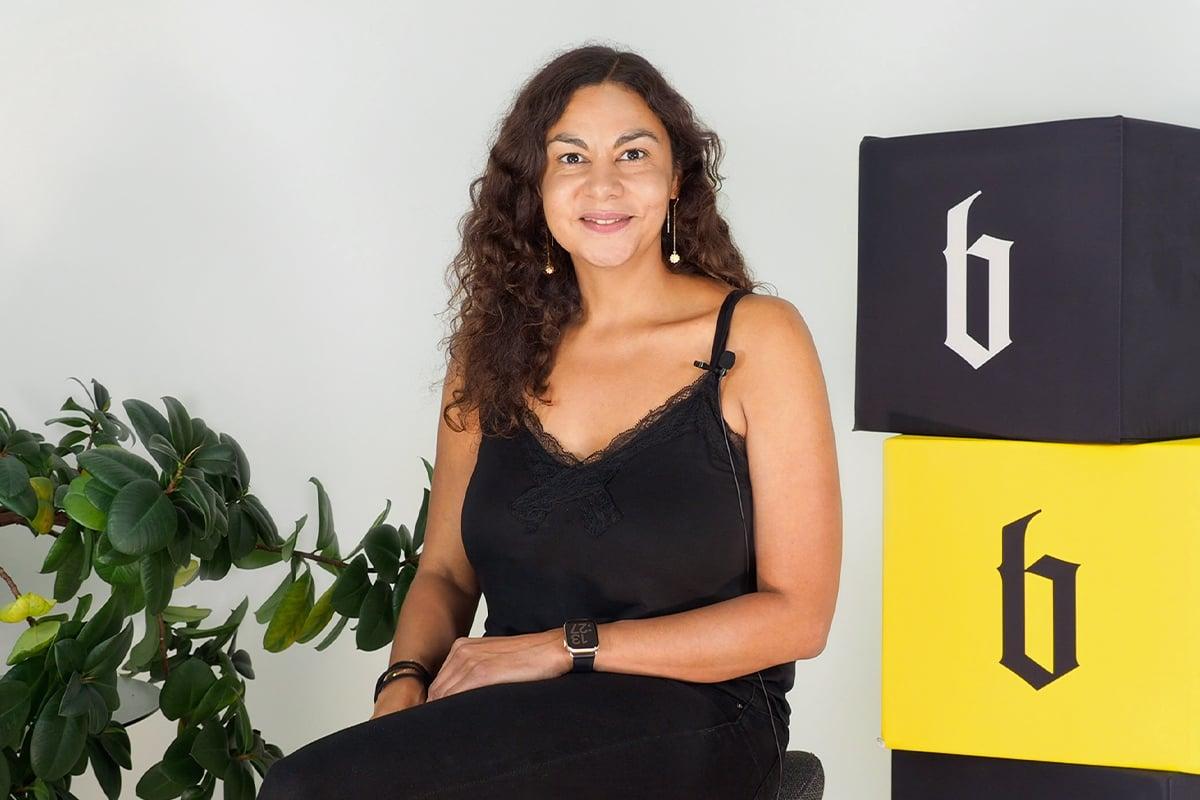 Projektmanagerin Nadine bei Blackbit