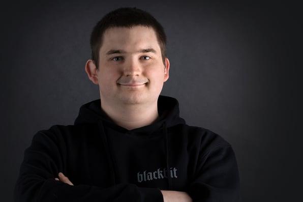 Maximilian Herrmann ist neuer Backend-Entwickler bei Blackbit am Standort in Göttingen.