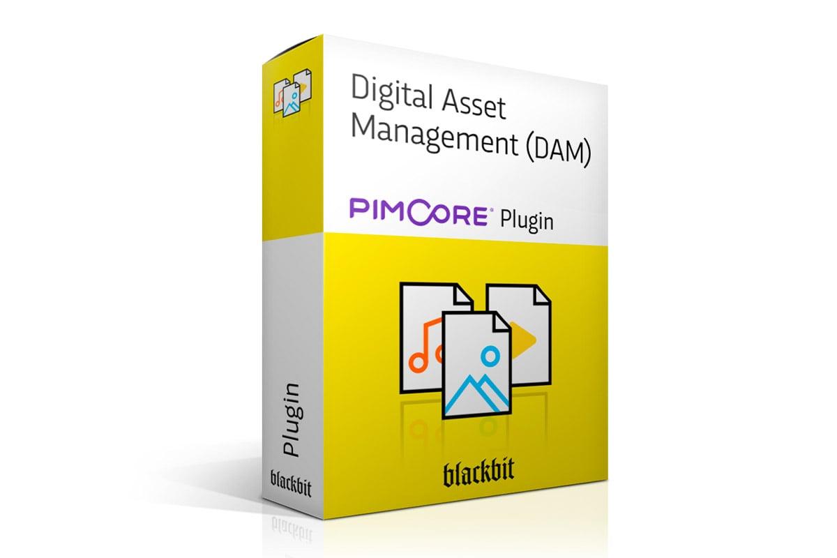 Pimcore Digital Asset Management (DAM) Plugin von Blackbit