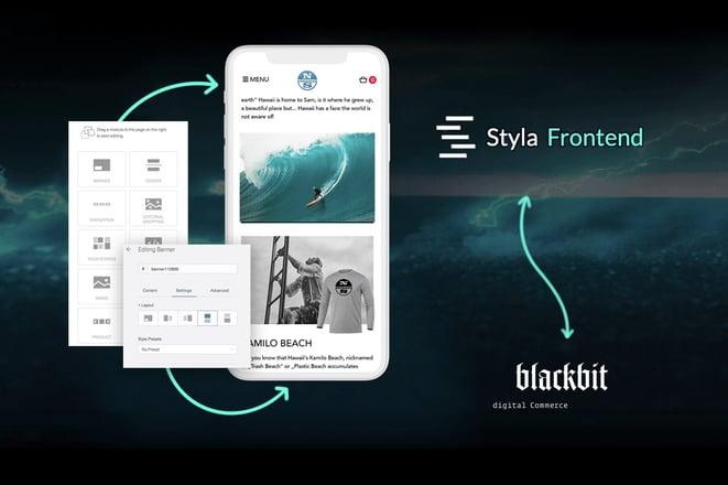 Neue Technologie: Blackbit ist Styla-Partner