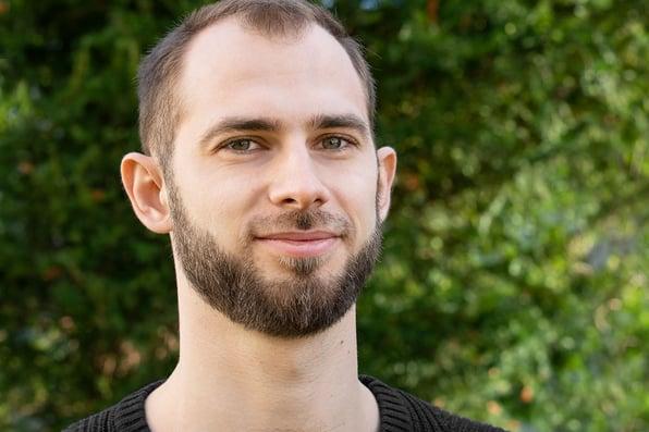 Vitalii Buga is new frontend developer in our Kiev team