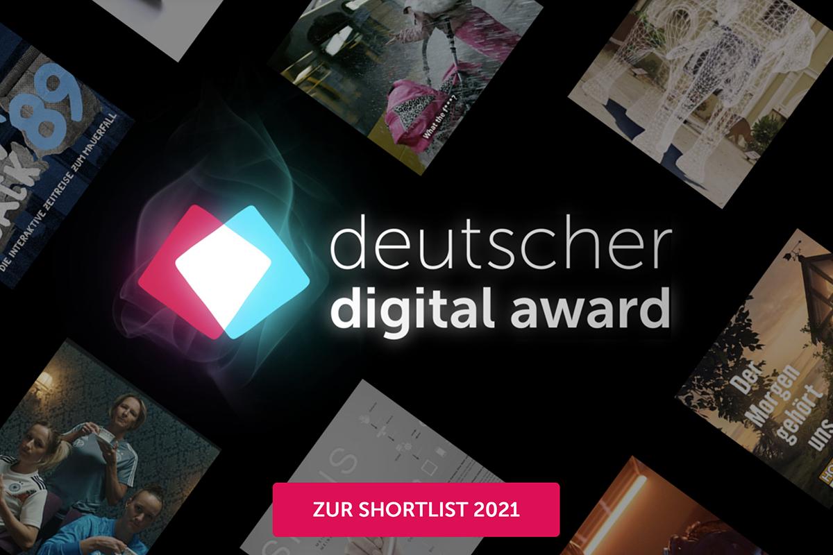 Deutscher Digital Award 2021 - Blackbit ist nominiert!