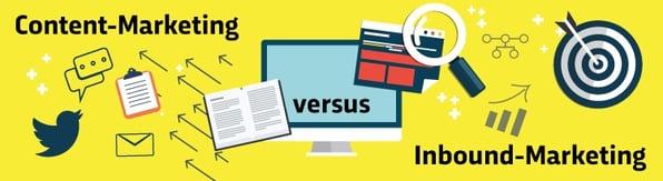 Content-Marketing vs. Inbound-Marketing